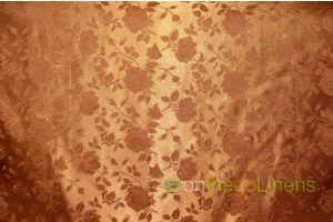 Satin Floral Jacquard Napkin 19 x 19 Single