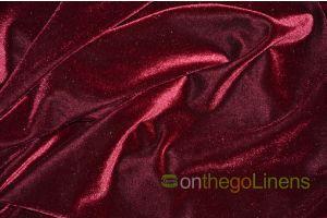 Stretch Velvet Table Linens